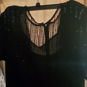 Stenay Black Dress